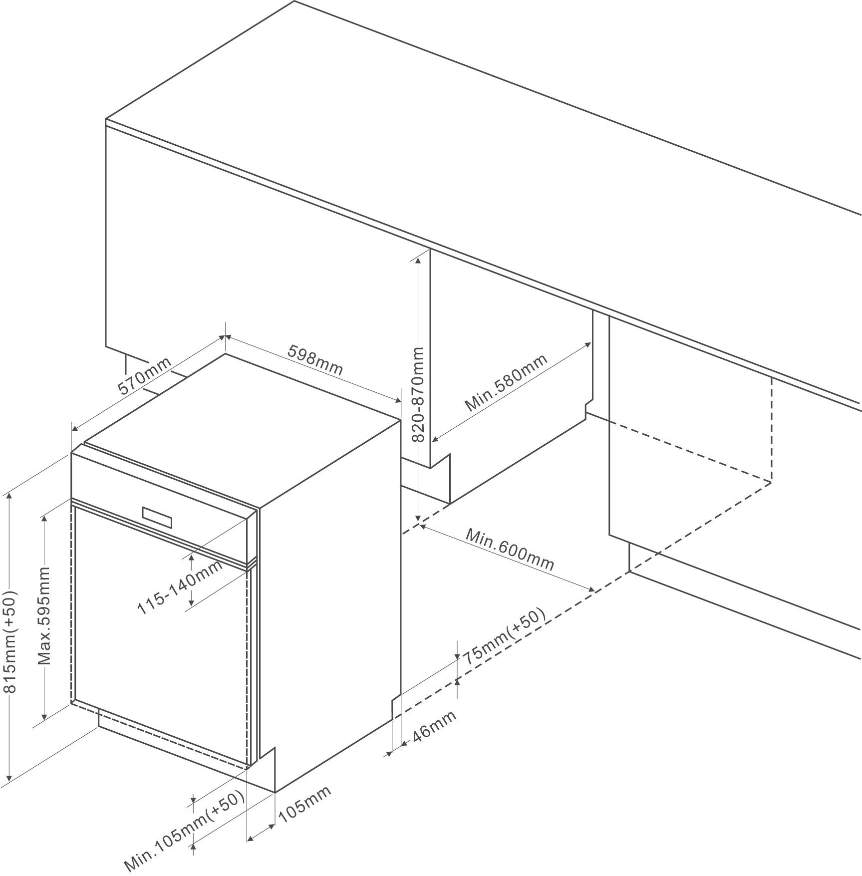 Google Sitemap Schema: Built-in Dishwasher VH1505W