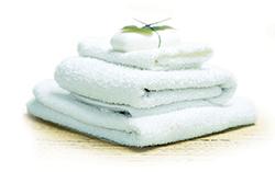 Blancheur de la serviette après un lavage Brandt