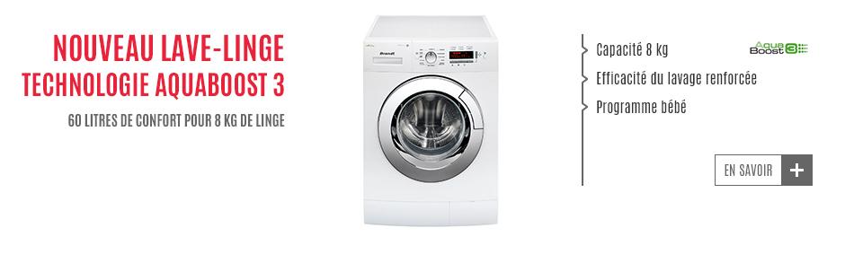 Slider washing machine