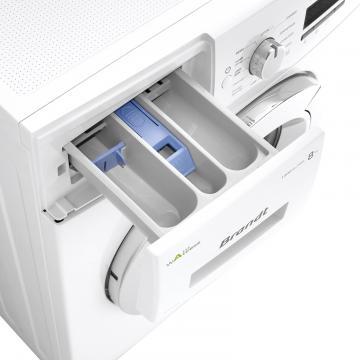 front loading washing machine bwf48tcw brandt electrom nager. Black Bedroom Furniture Sets. Home Design Ideas